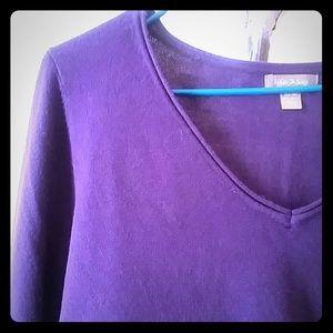 Sweaters - EGGPLANT SWEATER